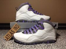 AIR JORDAN 10 RETRO Violet White Purple Nike X 1 3 4 5 6 7 11 12 OVO DB 2005 9.5
