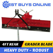 4 ft Grader Blade Heavy Duty 120 cm adjustable angle suit Tractor 3PL