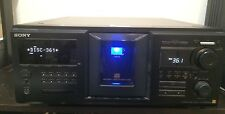Sony M555ES Mega Storage 400 CD Player Disc Changer Home Stereo Unit