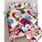 Marvel Avengers Mission Set Housse de couette double réversible Iron Man