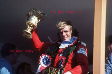 James Hunt Vittoria ritratto British Grand Prix 1976 Fotografia