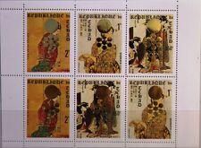 Chad chad 1971 klb 388-90 a 239c Olympics 1972 sapporo Kiyonaga pinturas mnh