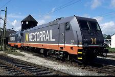 Originaldia: Hectorrail 241.002 vor 141.002 am 11.08.2009 in Hallsberg #29