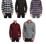 Jachs Men's Long Sleeve  Flannel Brawny Flannel Shirt