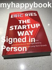 SIGNED The Startup Way by Russell Brand, new, autographed, The Lean Startup