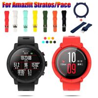 Case  Silicone Watch Band Full Cover For Xiaomi Huami Amazfit Pace / Stratos