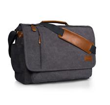 Shoulder Bag for Laptop, books etc. Canvas Messenger Style Bag.