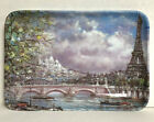 Vintage Melamine Ware small tray - 6' x 4' - Paris