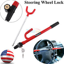 Usps Ship Steering Wheel Lock Anti Theft Security System Car Truck Suv Van Auto