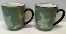Pfaltzgraff Patio Garden 2 Coffee Mugs