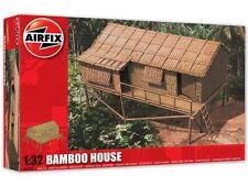 Airfix a06382 BAMBOO House PLASTIC MODEL KIT 16 PEZZI scala 1:32 Skill 1