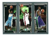 LEBRON JAMES CARMELO ANTHONY TJ FORD 2003-04 TOPPS MATRIX ROOKIE CARD RC