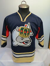 Victoria Salmon Kings Jersey - Away Blue Jersey Crested -Youth Large/Extra Large