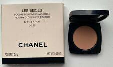 Chanel LES BEIGES POWDER MINIATURE no 25 0,8 g 0.02 oz RARE VIP GIFT