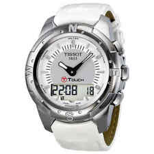 Tissot T-Touch II Multi-Function Silver Dial Titanium Watch T047.220.46.086.00