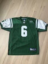 Mark Sanchez #6 New York Jets Stitched Football Jersey - Size 52