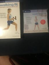 GAIAM WALKING FIT STRENGTH & FLEXIBILITY VHS VIDEO, CARDIO DVD. Madeline Lewis