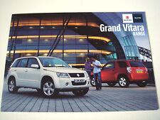Suzuki . Grand Vitara . Suzuki Grand Vitara Range . 2010 Sales Brochure