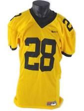 Nike Team Mens Football Jersey 28 V-Neck Short Sleeve Mesh Slit Shirt Large New