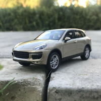 Minichamps Diecast Car Model Porsche Cayenne Turbo in 1:43 Scale Gold Collection