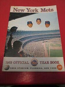 1969 New York Mets Official Yearbook-Original Not Reissue