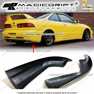 For 98 99 00 01 Acura Integra ITR Rear Bumper Lip Caps Spats Splash Mud Guards