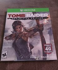 Tomb Raider Definitive Edition ART BOOK PACKAGING Xbox One OUT OF PRINT RARE