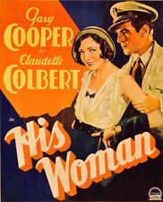His Woman - 1931 - Claudette Colbert Gary Cooper Edward Sloman Pre-Code DVD