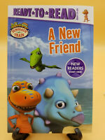 A New Friend (Ready-To-Read:Ready-to-go)Testa Jim Henson's Dinosaur Train HB New