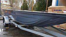Ungarisches Katamaran Angelboot, K-Maxxi XXL Teilausbau Verstärkt 5.7/2.1