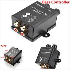 Car Bass Controller Adjust Level Volume Amplifier Subwoofer Equalizer Crossover