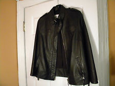 Women's Small Leather Jacket/Coat,100% Leather,Made in China,Zipper, Lined