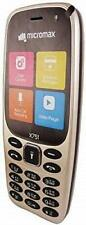 Micromax X751 (Champagne Gold) Feature Phone Cell Phone,Keypad ,Mobile Phone