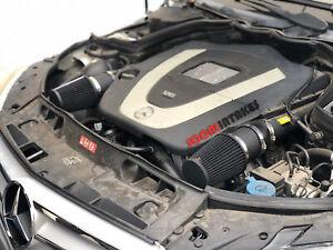 ALL BLACK COATED Air intake kit for 2008-12 Mercedes Benz C300 C350 3.0L 3.5L V6