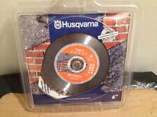 "Husqvarna 6"", TSD-T Turbo Rim Diamond Saw Blade, 542761419"