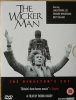 THE WICKER MAN 2 DISC SPECIAL ED DIRECTORS CUT CHRISTOPHER LEE UK DVD NEW