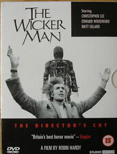 THE WICKER MAN 2 DISC SPECIAL ED DIRECTORS CUT CHRISTOPHER LEE UK DVD NEW SEALED