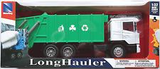 NewRay - Scania R124/400 LKW Müllwagen weiß/grün bedruckt 1:32 / Spur 1 Neu/OVP