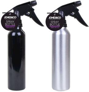 300ml Aluminium Hairdresser Water Bottle Spray Pump Mist Trigger Salon Garden