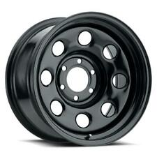 "Vision HD 85 Soft 8 16x8 5x114.3 0 Black Wheel 16"" Inch Alloy Rim"