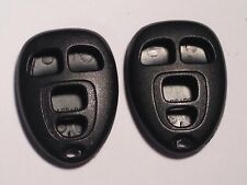 PAIR FACTORY CHEVROLET OEM SHELL CASE REMOTE FOB CLICKER GM/ L: 15252034