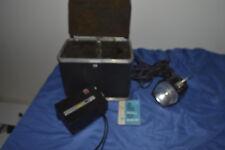 Kodak M 14 Movie Camera with Case and GE Movie Light
