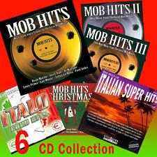 Mob Hits CD - Vol 1-2-3-4 + Super Hits - Euro Hit - 6 CD Summer Special $ Saving