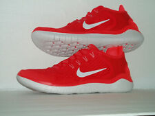 Nike Free RN 2018 Men's Size 9-11 (942836 600) Speed Red/Vast Grey