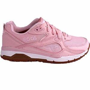 KangaROOS Roos Womens Pink Runaway Pocket Tongue Casual Classic Running Shoes