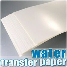 SZ01-C A4 Inkjet Water Slide Decal Paper pack of 20 Transparent