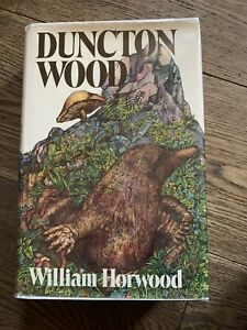 Duncton Wood, Signed And Inscribed By William Horwood, U.S. First Edition.