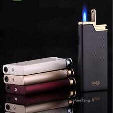 Refillable Jet Flame Butane Torch Cigarette Cigar Windproof 873 Lighter