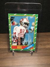 1986 Topps Jerry Rice ROOKIE RC #161