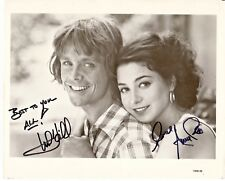 Mark Hamill Annie Potts Star Wars Corvette Dual Autograph Hand Signed 8x10 Photo
